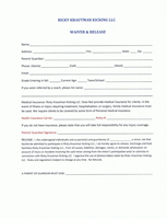 Waiver & Release Form